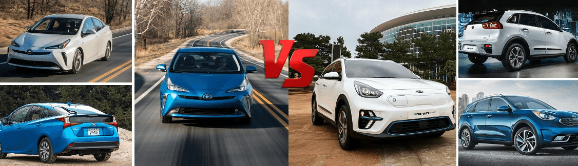 2019 Toyota Prius vs 2019 Kia Niro